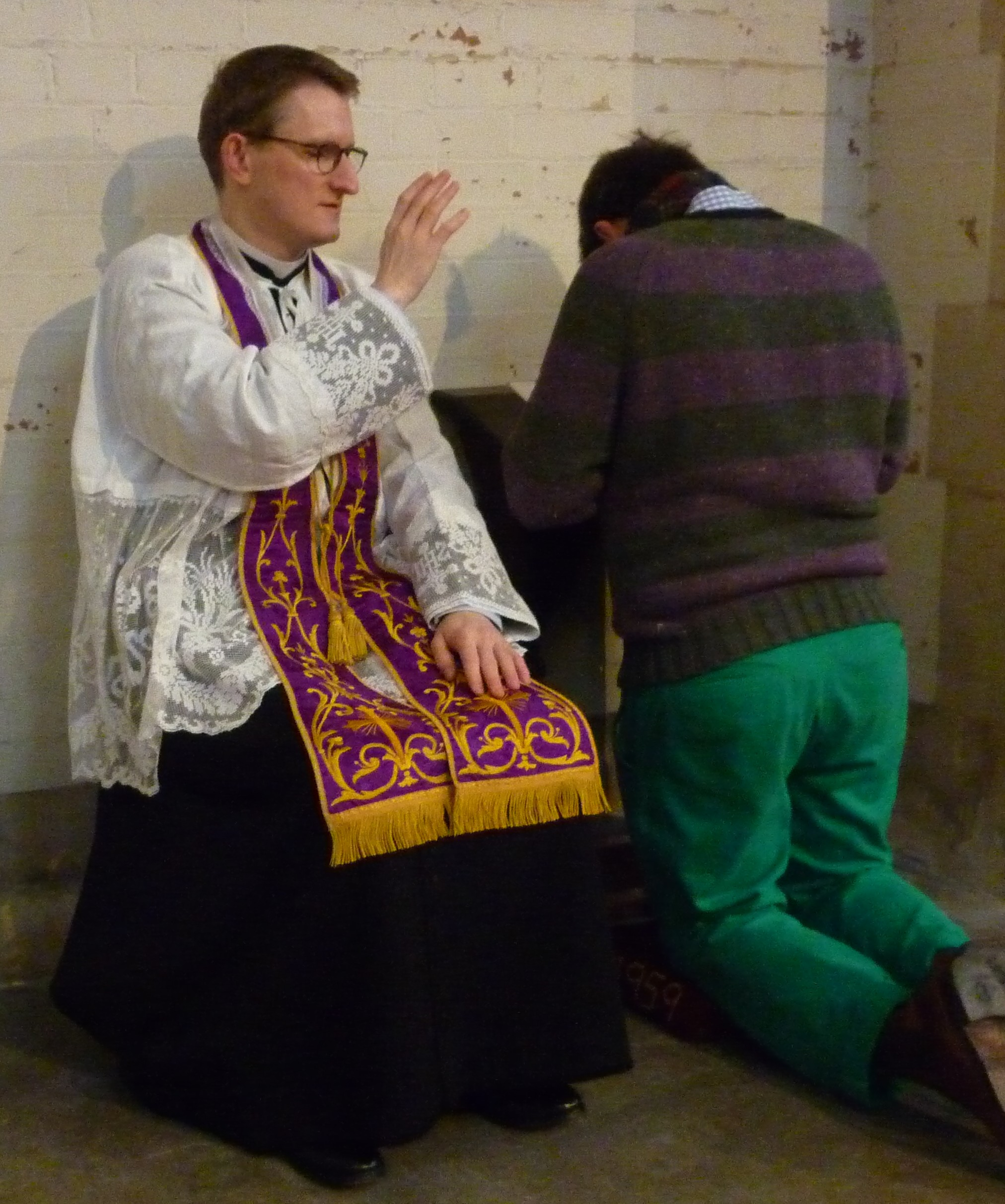 an analysis of the christian sacrament of reconciliation and the concept of sin Other articles where reconciliation is discussed: absolution: in roman catholicism, penance is a sacrament and the power to absolve lies with the priest, who can.
