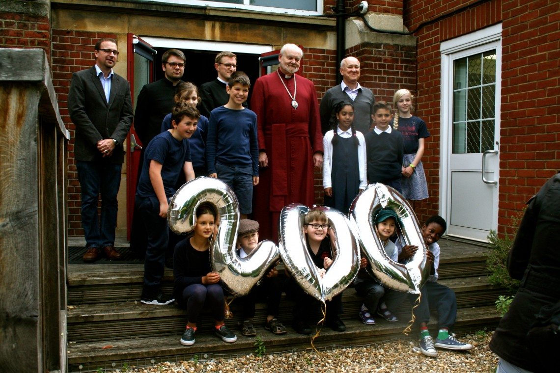 Bishop of London visits Kentish Town School