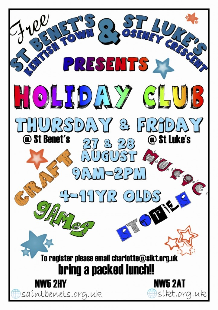 Children's Summer Holiday Club 2015