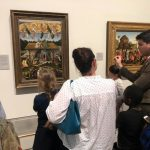 Visit to the National Gallery.
