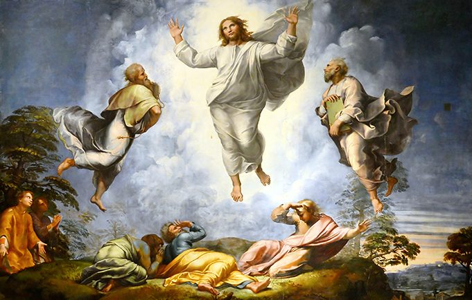 A homily for Lent 2: the Transfiguration