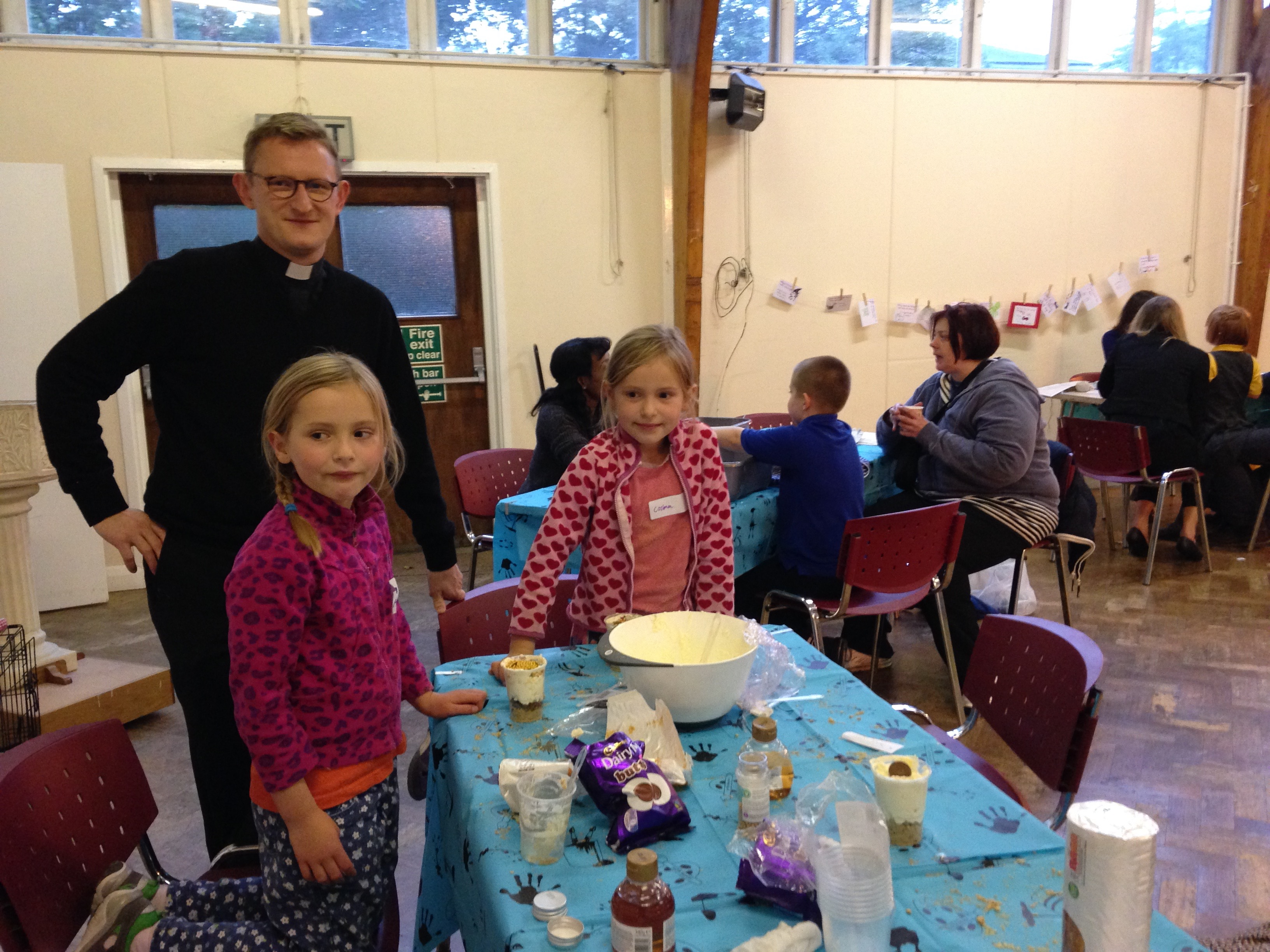 Messy Church taking place at St Paul's Camden Square.