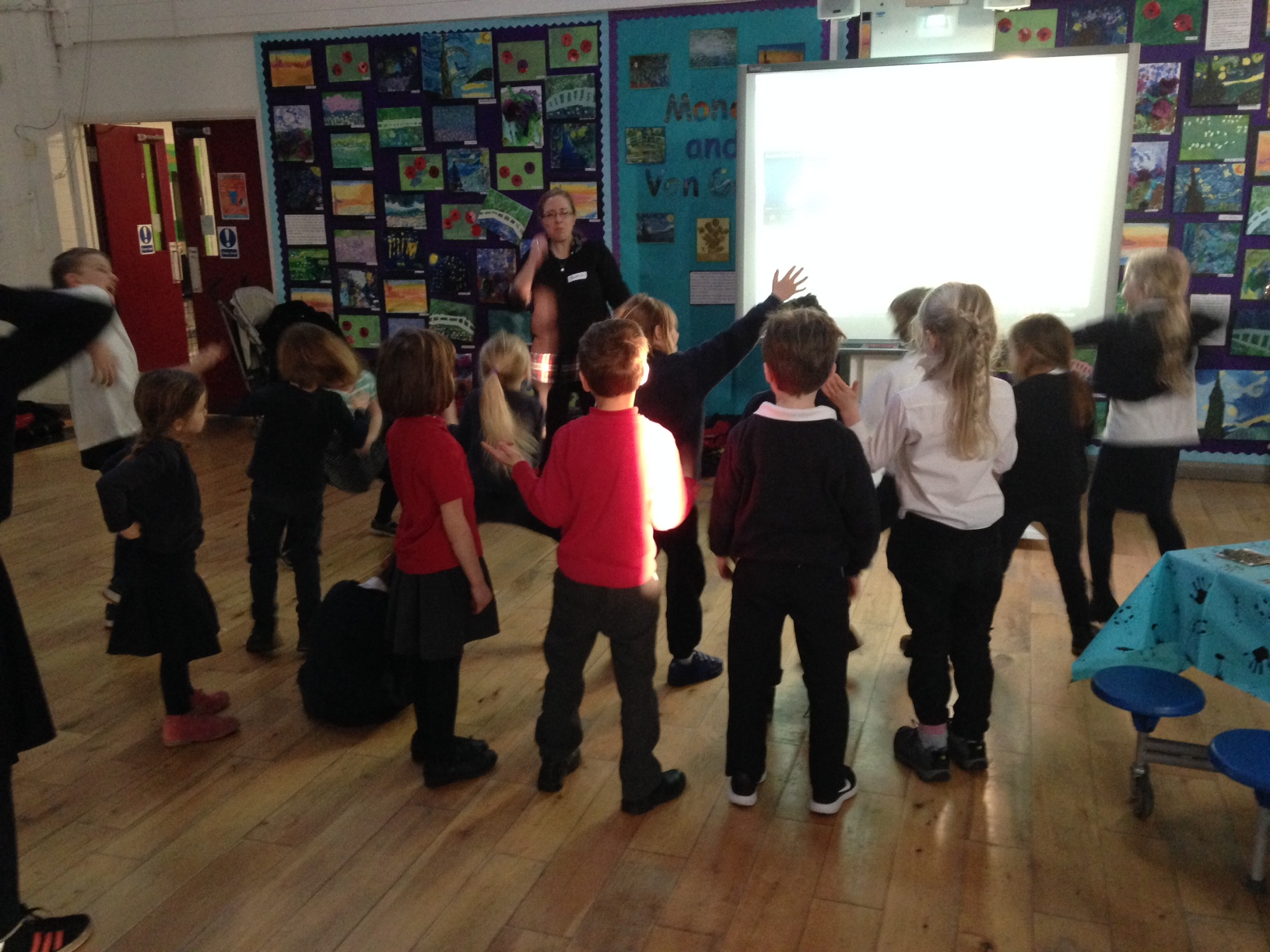 Messy Church taking place in Kentish Town CE Primary School.