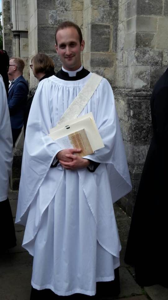 Nick Archer (pastoral assistant 2013-14) is now ordained as a deacon and is serving his curacy at St Saviour's Eastbourne.