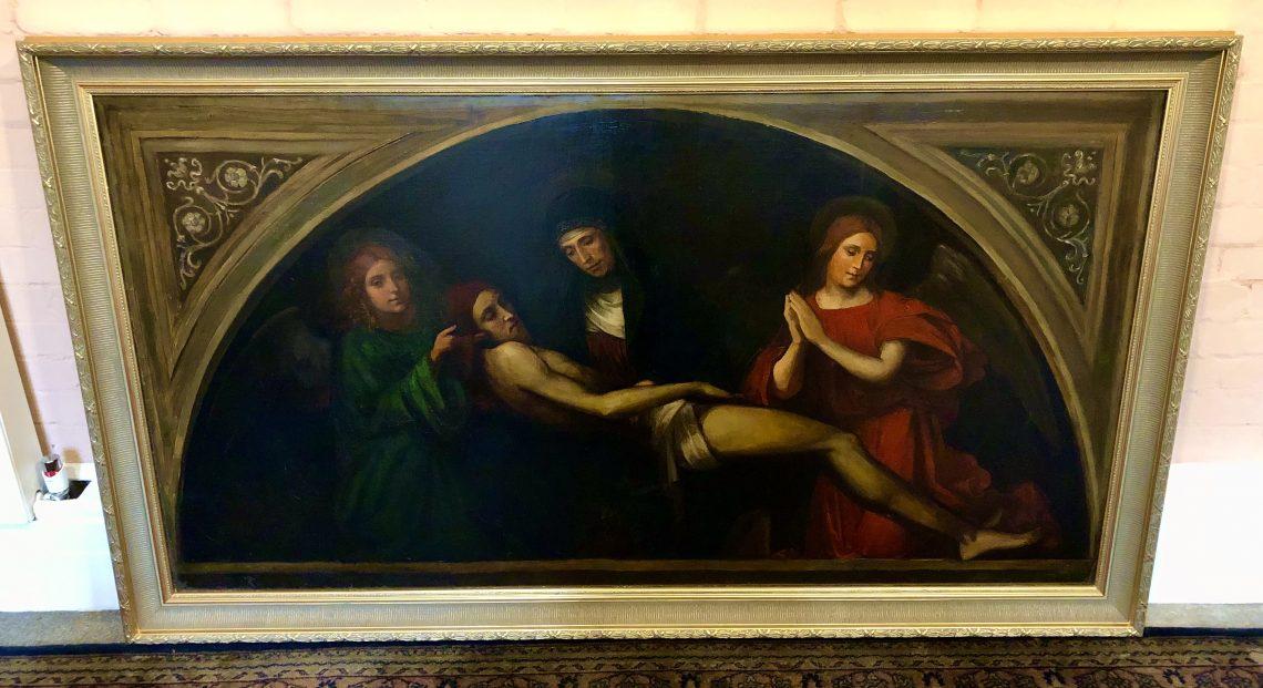 The Restoration of the St Benet's Pieta